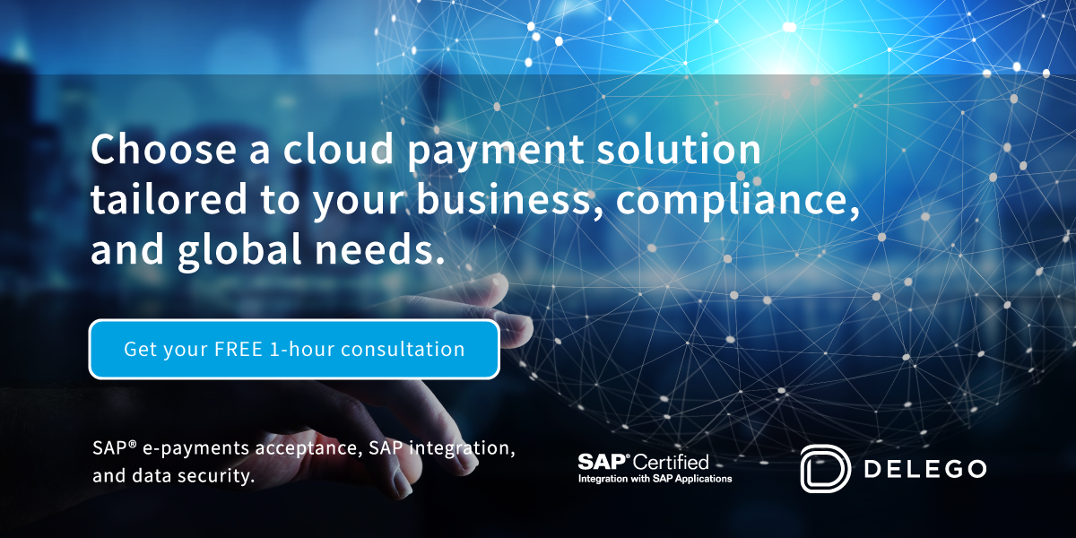 Delego | The ultimate cloud platform for e-payments integration with SAP